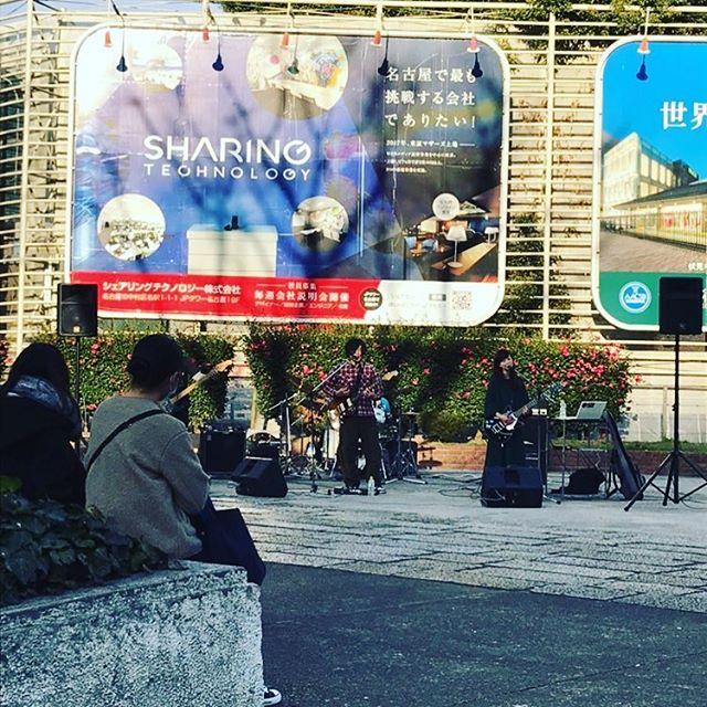 2019年のライブはじめは、栄広場と新栄SiX-DOGの2days!!とっても楽しかったです!! #ASREFRAIN#男女ツインギターボーカル#名古屋バンド#次のライブは2月10日